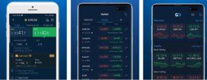 AvaTrade offers mobile trading through the AvaTradeGo app