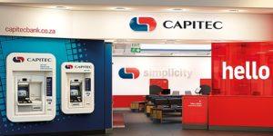 A Capitec bank branch