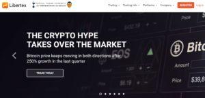 Libertex Homepage