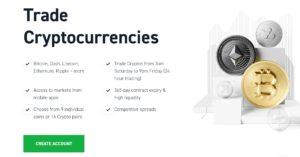 Trade Crypto with XTB