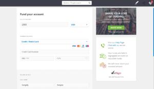 eToro Fund Your Account
