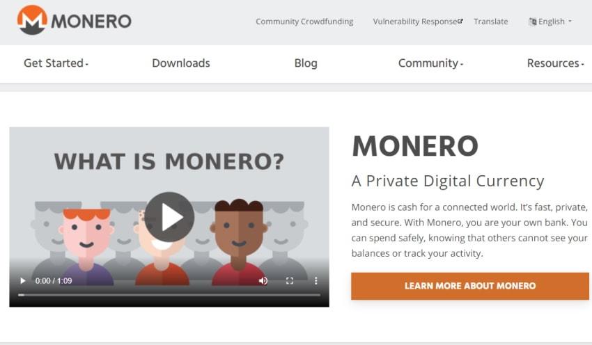 Monero site